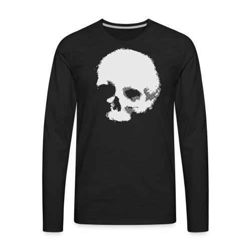 Screaming skull plain - Men's Premium Long Sleeve T-Shirt