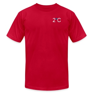 2 degrees - Men's T-Shirt by American Apparel