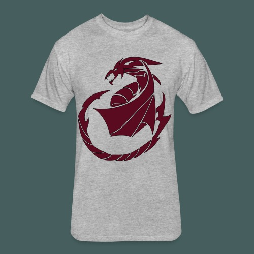 Dragon Soul - Fitted Cotton/Poly T-Shirt by Next Level