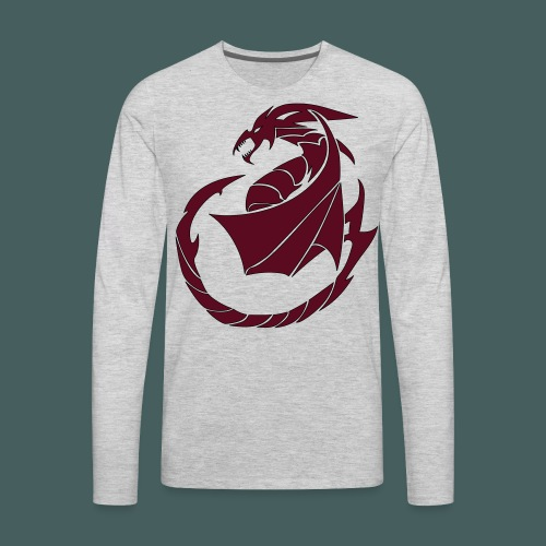 Dragon Soul - Men's Premium Long Sleeve T-Shirt
