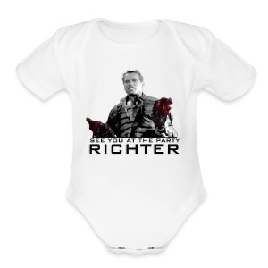 See you at the party Richter Tank - Short Sleeve Baby Bodysuit