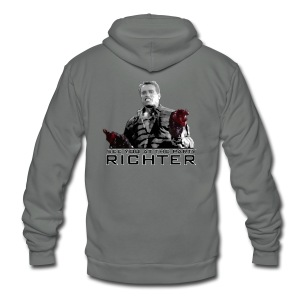 See you at the party Richter Tank - Unisex Fleece Zip Hoodie by American Apparel