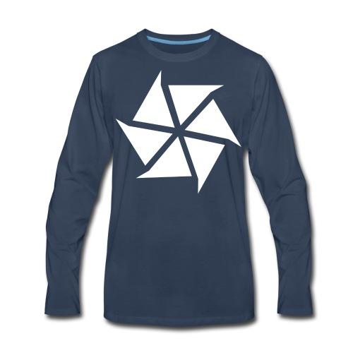 Vadact Logo :: Premium Male T-Shirt - Men's Premium Long Sleeve T-Shirt