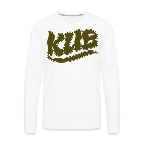 Original Kub Gold Kub Men's T-Shirt - Men's Premium Long Sleeve T-Shirt