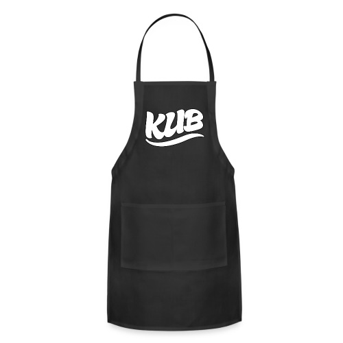 Original Kub White Kub Men's T-Shirt - Adjustable Apron