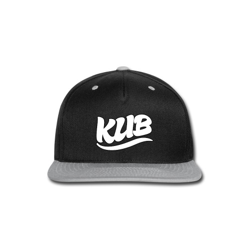 Original Kub White Kub Men's T-Shirt - Snap-back Baseball Cap