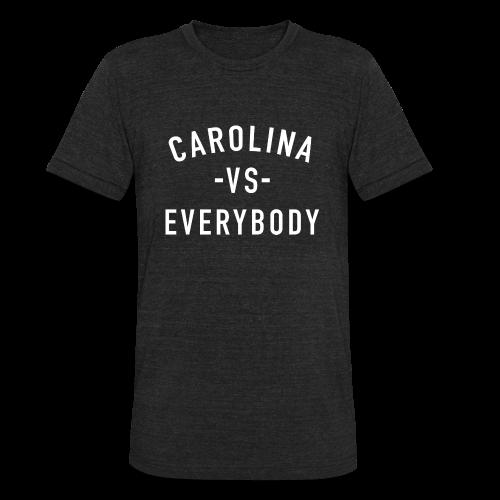 Men's Versus L/S Shirt - Unisex Tri-Blend T-Shirt
