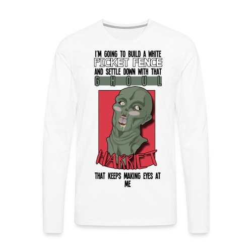 Brotherhood REDACTED - Harriet the Ghoul - Men's Premium Long Sleeve T-Shirt