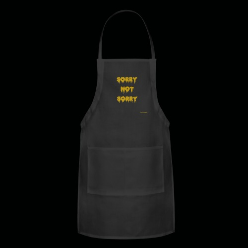 Sorry Not Sorry Brand cjfolds - Adjustable Apron