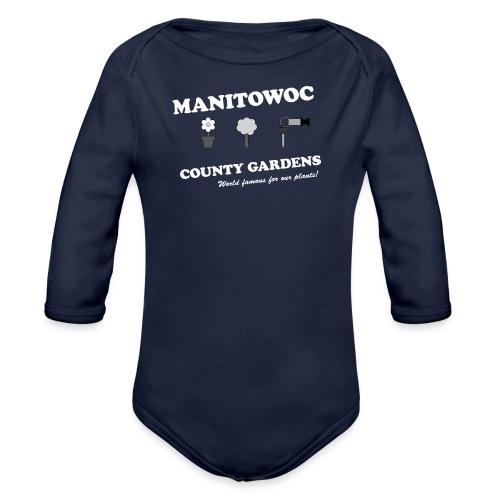 Kids Manitowoc County Gardens - Organic Long Sleeve Baby Bodysuit