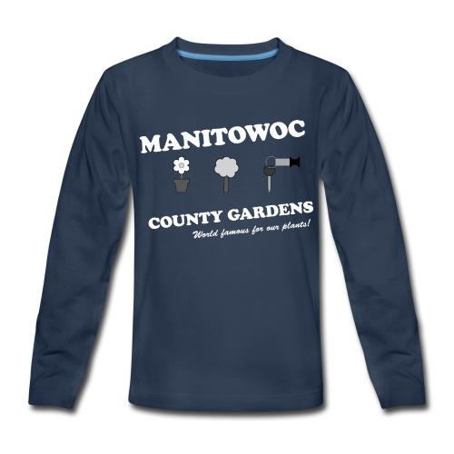 Kids Manitowoc County Gardens - Kids' Premium Long Sleeve T-Shirt
