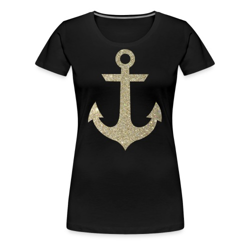 Golden Anchor Tank - Women's Premium T-Shirt