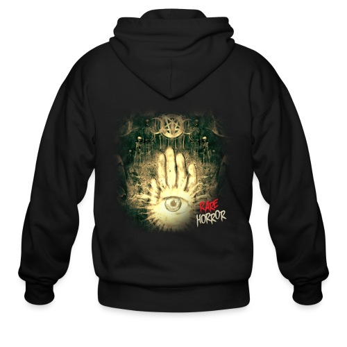 Rare Horror Occult - Men's Zip Hoodie