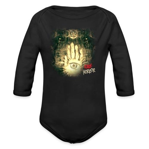 Rare Horror Occult - Organic Long Sleeve Baby Bodysuit