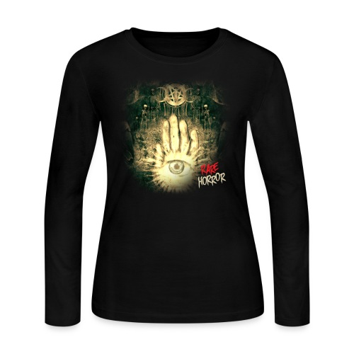 Rare Horror Occult - Women's Long Sleeve Jersey T-Shirt