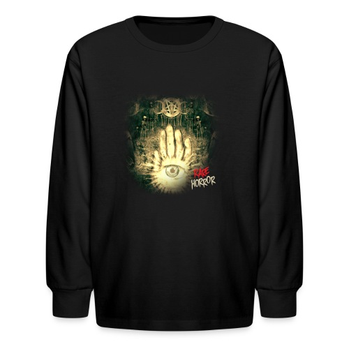 Rare Horror Occult - Kids' Long Sleeve T-Shirt