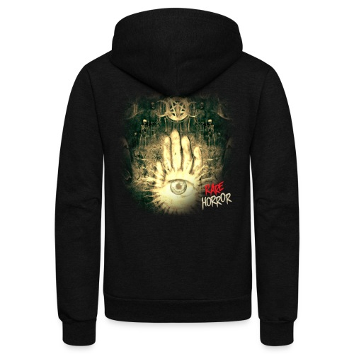 Rare Horror Occult - Unisex Fleece Zip Hoodie