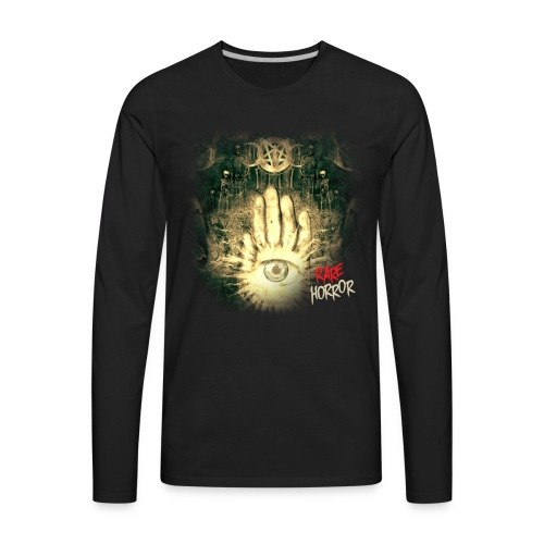Rare Horror Occult - Men's Premium Long Sleeve T-Shirt