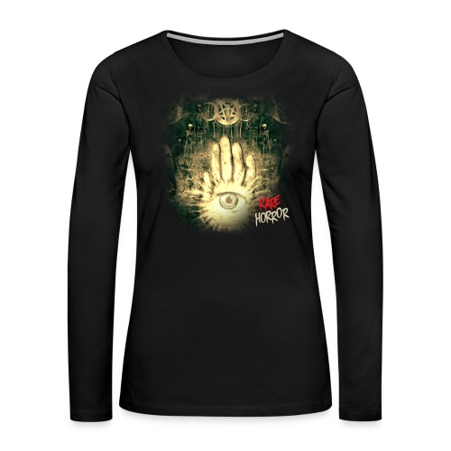 Rare Horror Occult - Women's Premium Long Sleeve T-Shirt