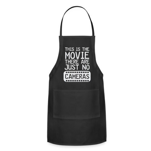Life's a Movie - Flix and Shirts - Adjustable Apron
