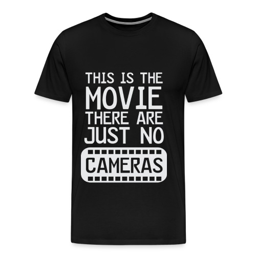 Life's a Movie - Flix and Shirts - Men's Premium T-Shirt