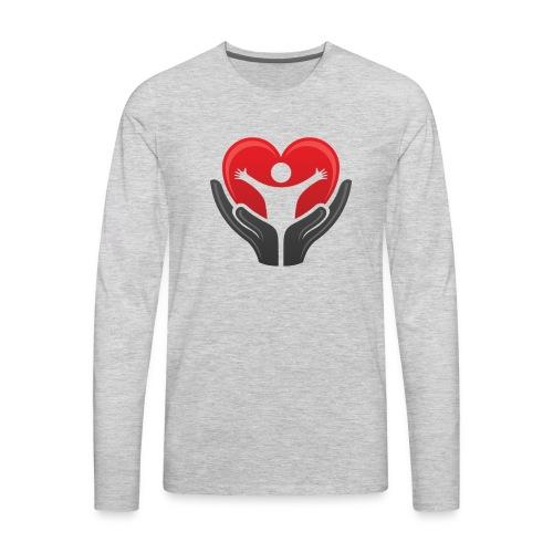 Men's tshirt with logo - Men's Premium Long Sleeve T-Shirt