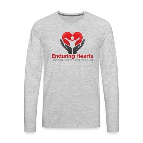 Men's tshirt with text - Men's Premium Long Sleeve T-Shirt