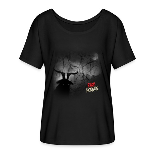 Rare Horror Black Metal - Women's Flowy T-Shirt