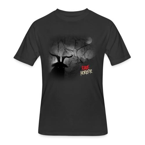 Rare Horror Black Metal - Men's 50/50 T-Shirt