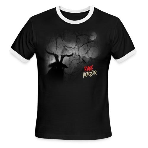 Rare Horror Black Metal - Men's Ringer T-Shirt