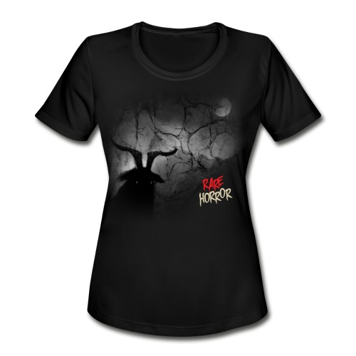 Rare Horror Black Metal - Women's Moisture Wicking Performance T-Shirt