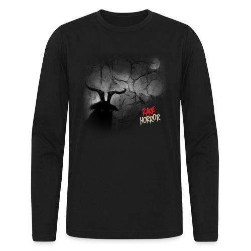 Rare Horror Black Metal - Men's Long Sleeve T-Shirt by Next Level