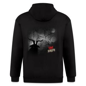 Rare Horror Black Metal - Men's Zip Hoodie