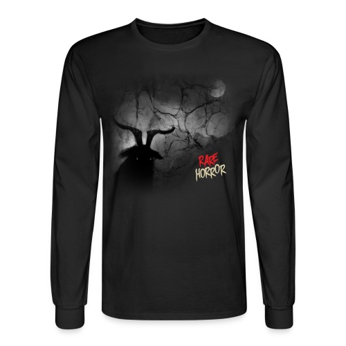 Rare Horror Black Metal - Men's Long Sleeve T-Shirt