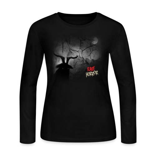 Rare Horror Black Metal - Women's Long Sleeve Jersey T-Shirt