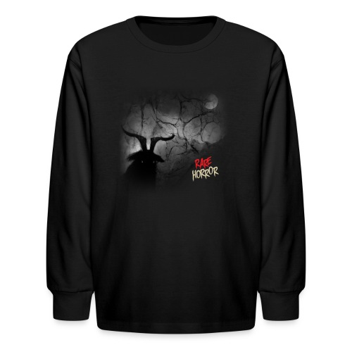 Rare Horror Black Metal - Kids' Long Sleeve T-Shirt