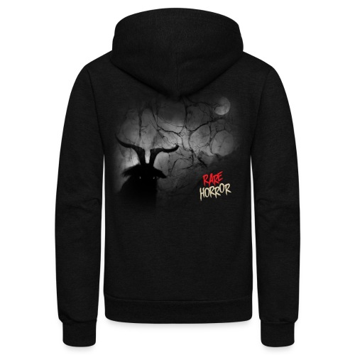 Rare Horror Black Metal - Unisex Fleece Zip Hoodie