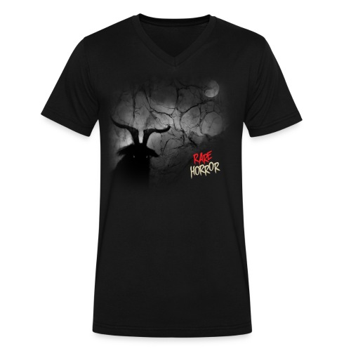 Rare Horror Black Metal - Men's V-Neck T-Shirt by Canvas