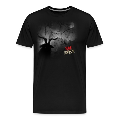 Rare Horror Black Metal - Men's Premium T-Shirt
