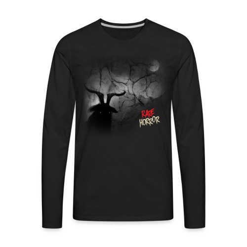 Rare Horror Black Metal - Men's Premium Long Sleeve T-Shirt