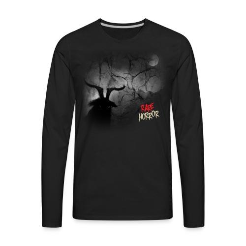Rare Horror Black Metal - Men's Premium Long Sleeve T-Shirt