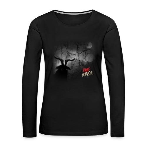 Rare Horror Black Metal - Women's Premium Long Sleeve T-Shirt