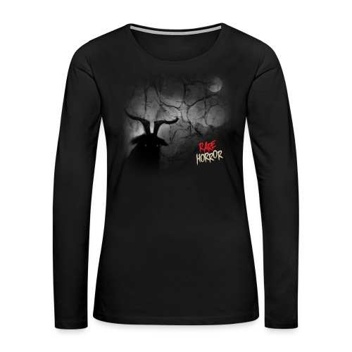 Rare Horror Black Metal - Women's Premium Long Sleeve T-Shirt