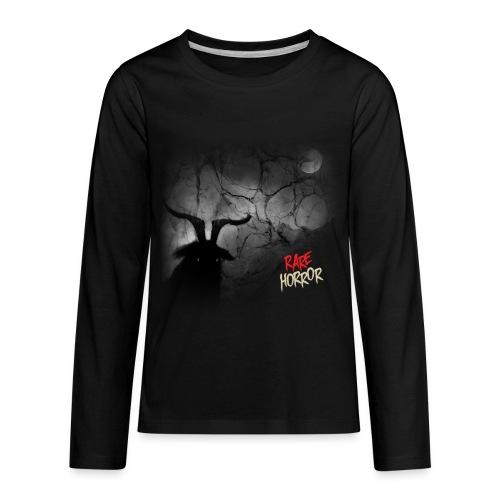 Rare Horror Black Metal - Kids' Premium Long Sleeve T-Shirt