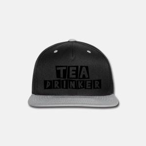 Tea Drinker - Snap-back Baseball Cap
