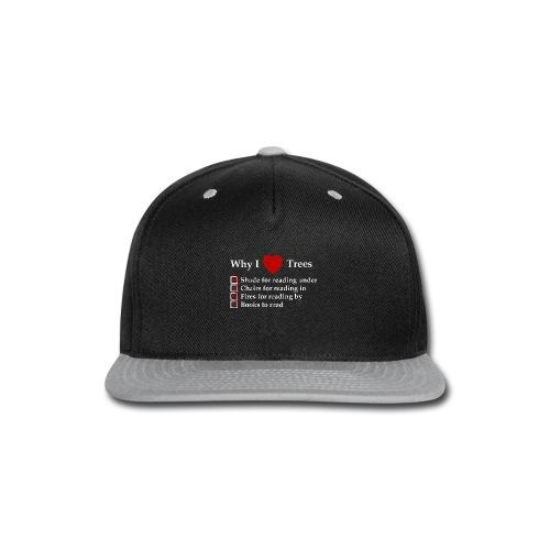 Reader Tree Love - Snap-back Baseball Cap
