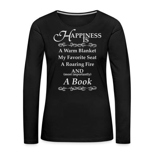 Reader Happiness - Women's Premium Long Sleeve T-Shirt