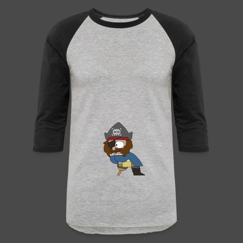 Pirate Shock Two Tone Hoodie - Baseball T-Shirt