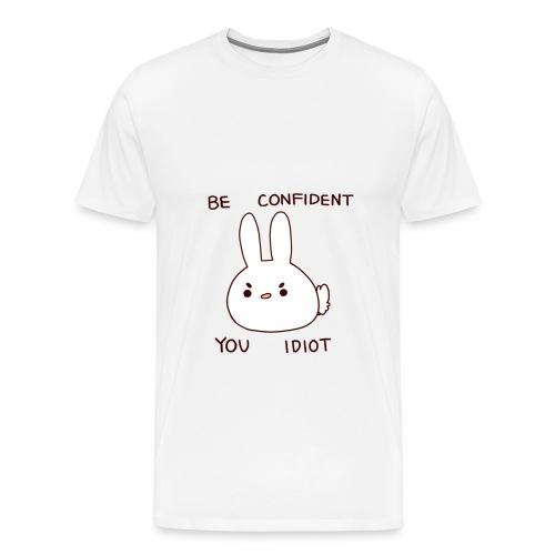 Crass Bunny Hoodie - Men's Premium T-Shirt