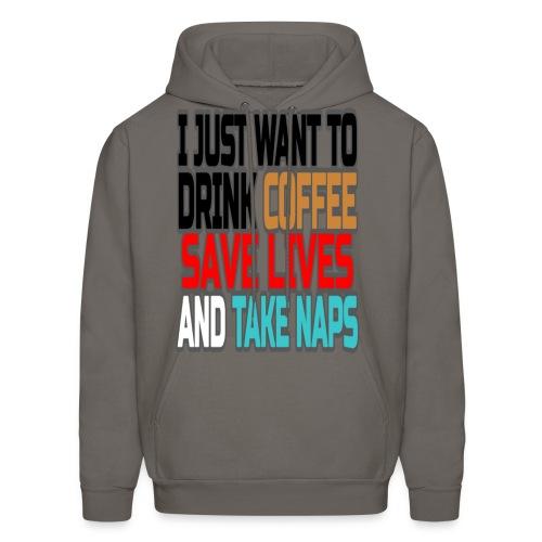 Coffee Break  - Men's Hoodie